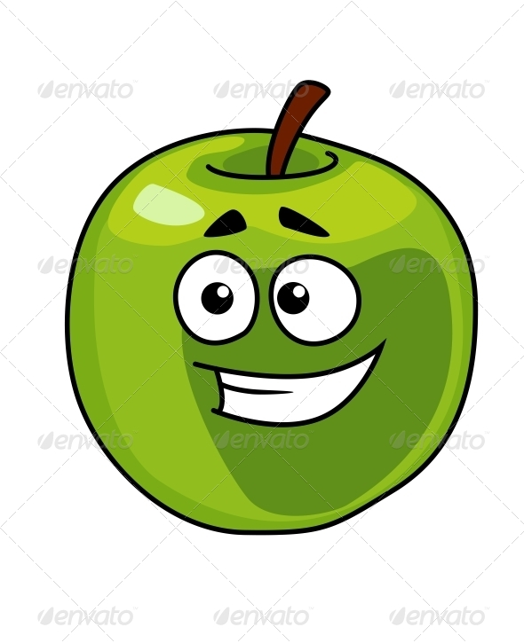GraphicRiver Smiling Apple 6775785