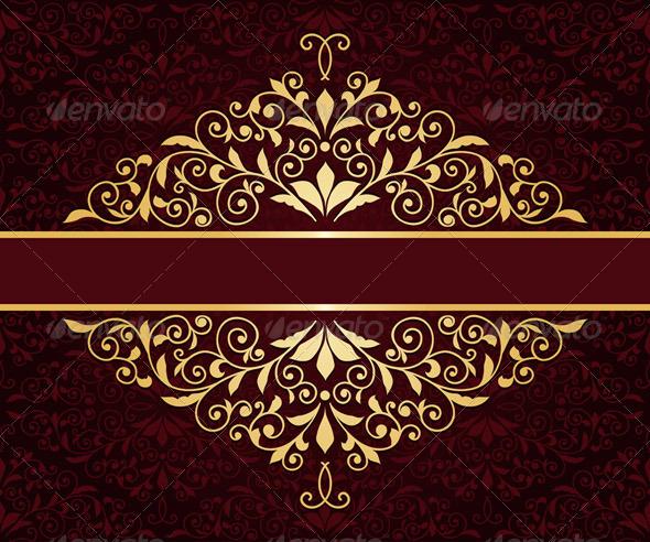 GraphicRiver Golden Frame 6776008