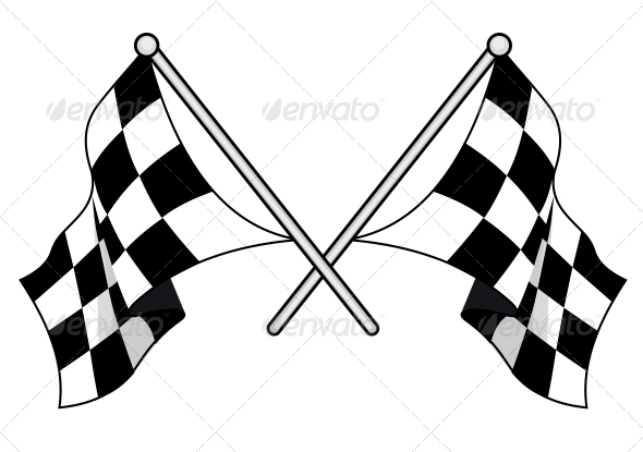 GraphicRiver Checkered Flags 6776095