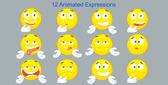 VideoHive Animated Expressions 6776212