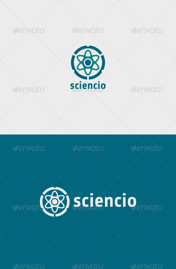 GraphicRiver Science Logo 6776213