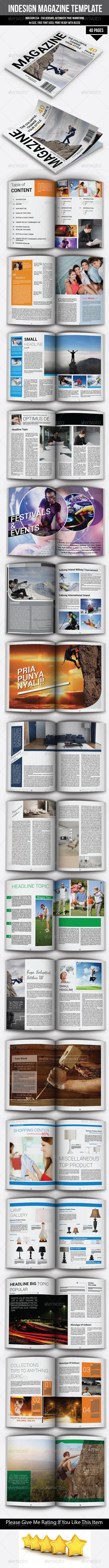 GraphicRiver A4 Magazine Template 6770058