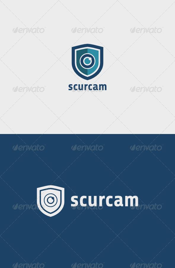 GraphicRiver Security Camera Logo 6776563