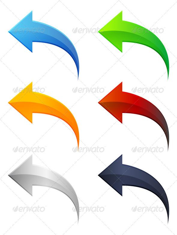 GraphicRiver Set of Arrow Icons 6776765