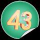 43fourtythree