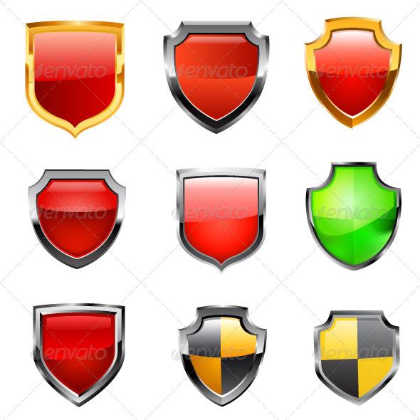 GraphicRiver Shield Set 6777580