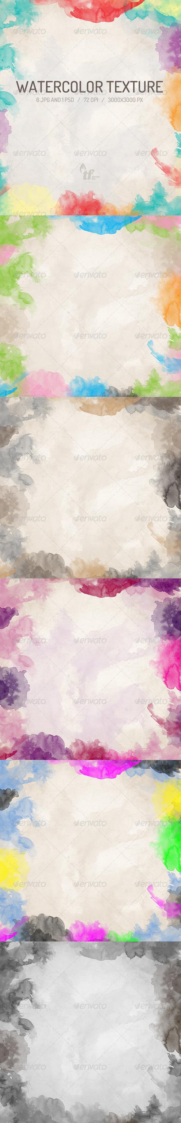 GraphicRiver Watercolor Texture 6777907