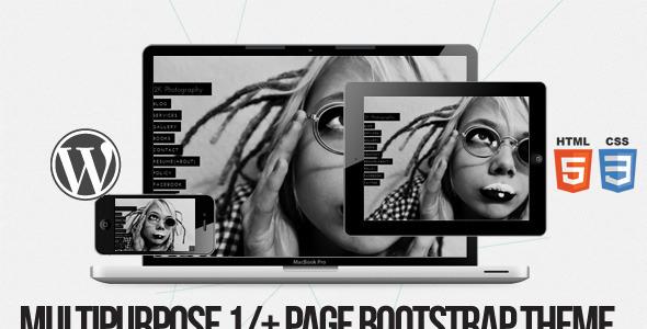2k – Multi purpose 1/+ page Bootstrap WPML Theme