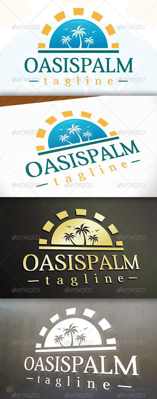 GraphicRiver Oasis Logo 6778799