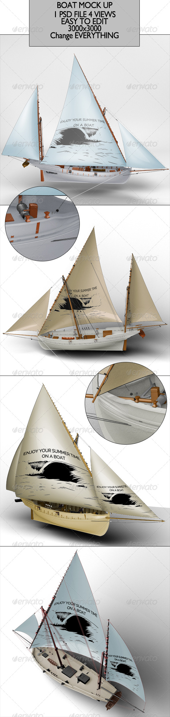 GraphicRiver Boat Mock Up 6766496