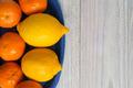 Lemons and mandarin oranges - PhotoDune Item for Sale