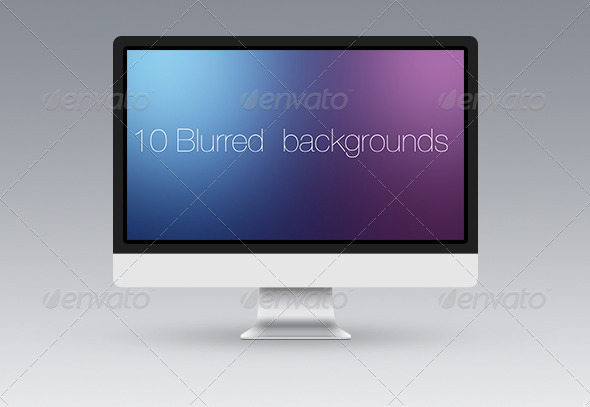 GraphicRiver 10 Blurred Backgrounds 6779459