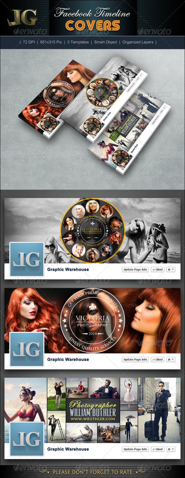 GraphicRiver FB Timeline Cover V5 6768844