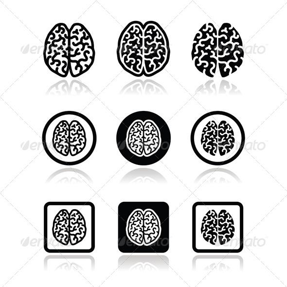 GraphicRiver Brain Icons 6779773