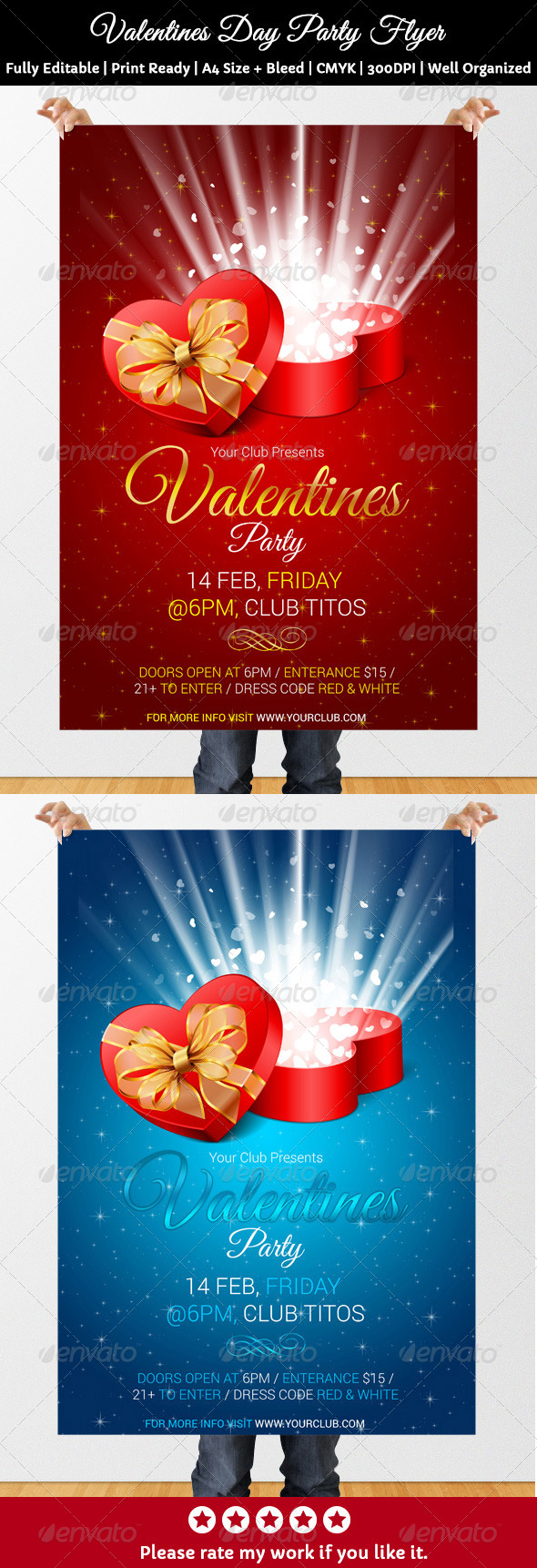 GraphicRiver Valentine s Day Party Flyer 6779950
