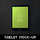 Workspace Tablet Mock-up - GraphicRiver Item for Sale