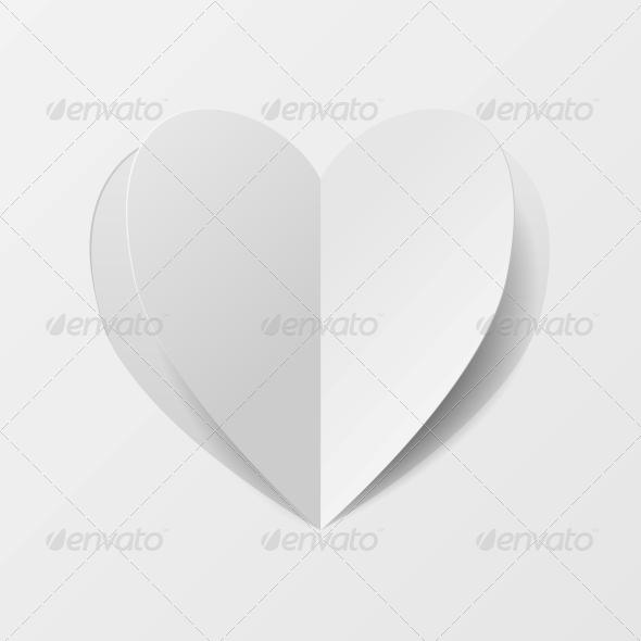 GraphicRiver Paper Heart 6780373