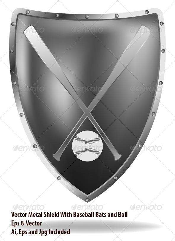 GraphicRiver Baseball Shield 6780565