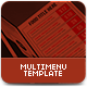 Multimenu Template - GraphicRiver Item for Sale