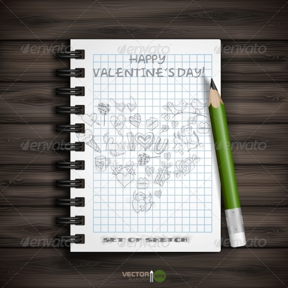 GraphicRiver Valentines Day Symbols 6781454