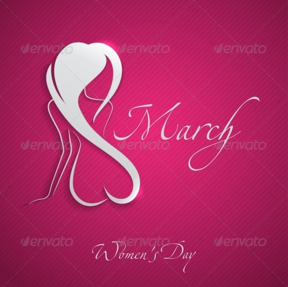 GraphicRiver Happy Women s Day March 8 6781520