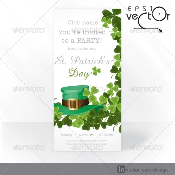 GraphicRiver St Patrick s Day Background 6781624
