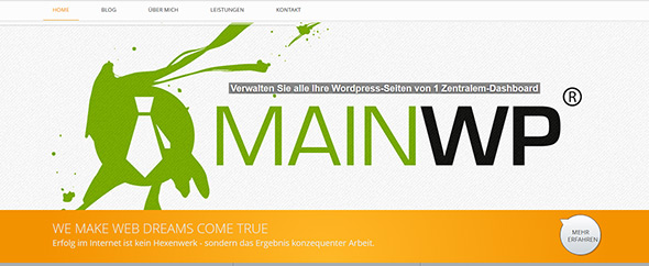 Web-dreams-agency-screenshot-webpage-mainwp
