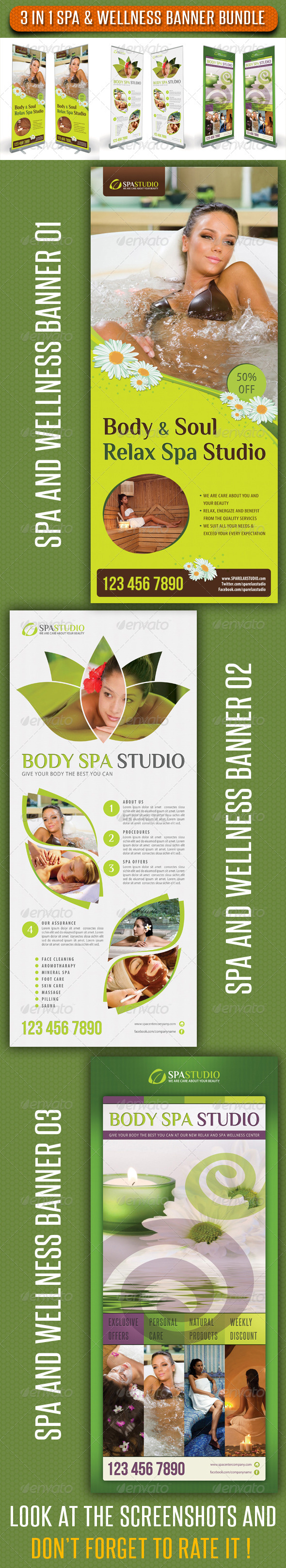 GraphicRiver 3 in 1 Spa Wellness Banner Bundle 02 6782079