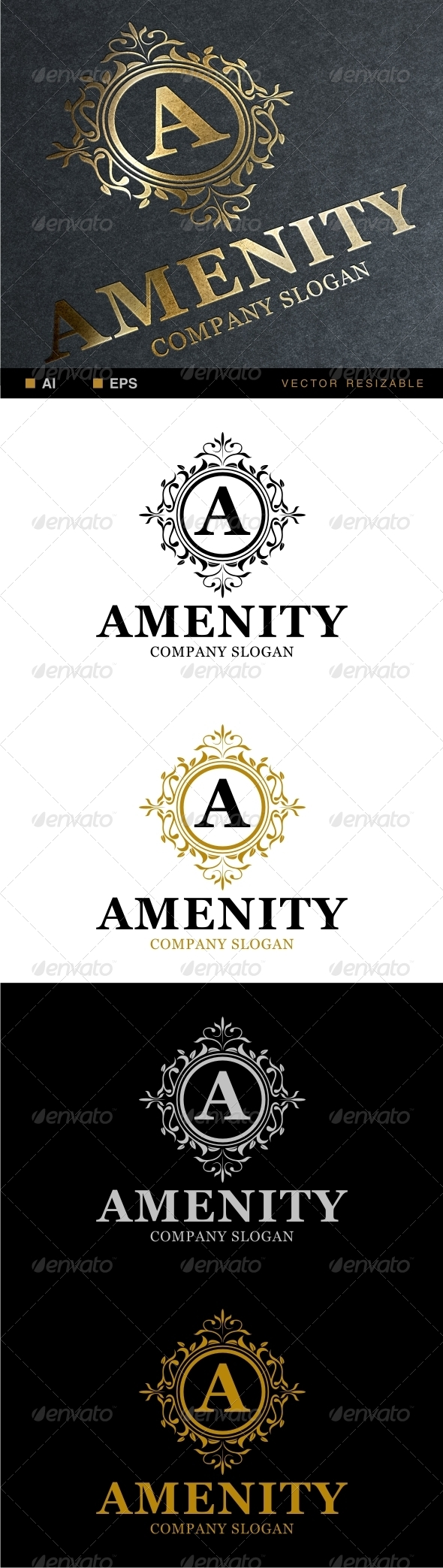 GraphicRiver Amenity Logo 6782210