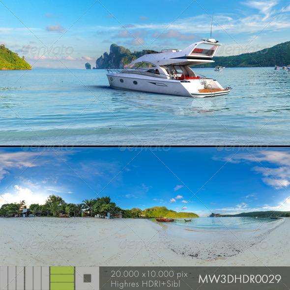 3DOcean MW3DHDR0029 Phi Phi Island Beach Thailand 6782565
