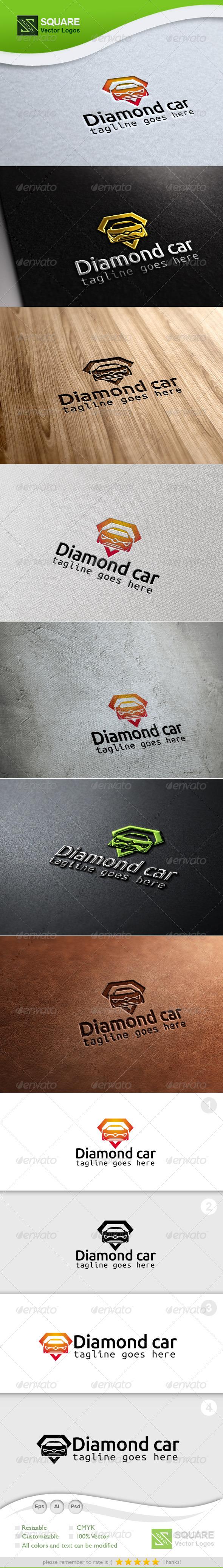 GraphicRiver Diamond Car Vector Logo Template 6782608