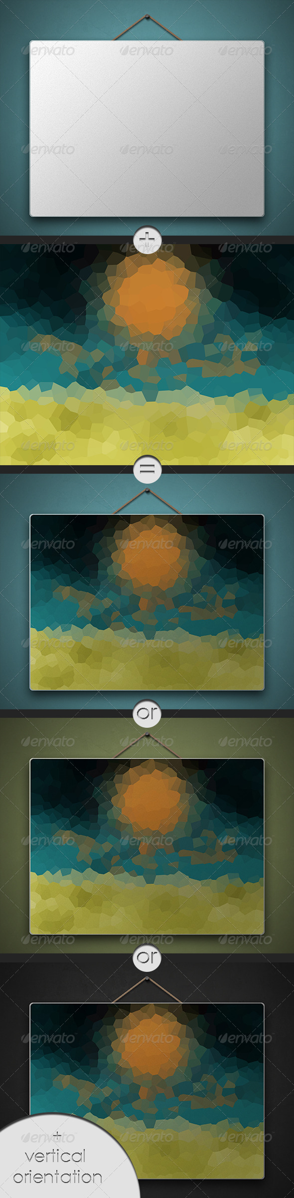 GraphicRiver Background Poster MockUp 6782897