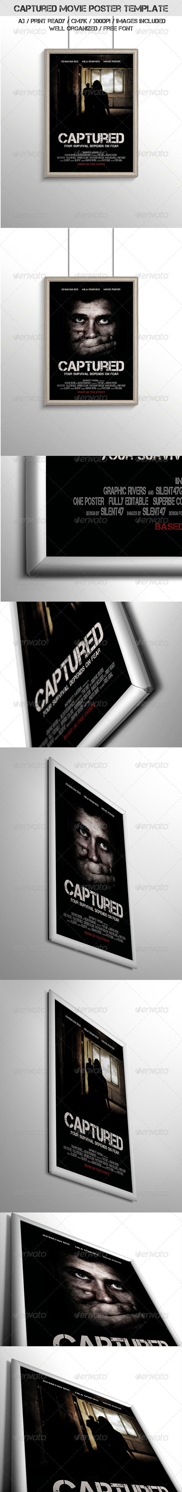 GraphicRiver Captured Movie Poster Template 6783007