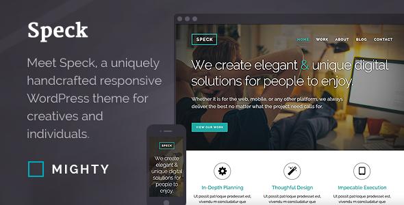 Caveat WordPress Theme