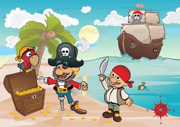 GraphicRiver Treasure Island 6783165