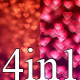 Hearts Valentine Loop v4 (4-Pack) - VideoHive Item for Sale