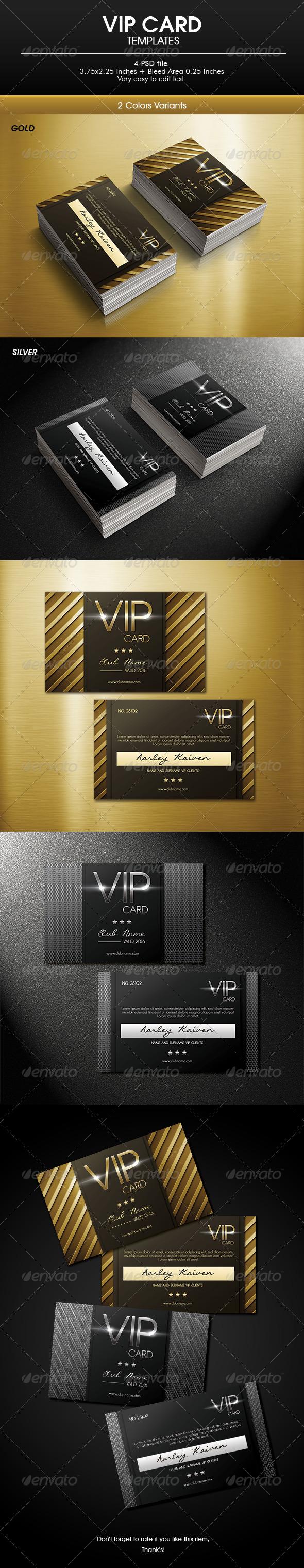 GraphicRiver Vip Card 6784121