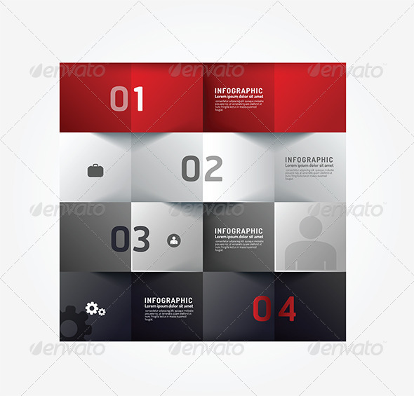 GraphicRiver Modern Design Minimal Style Infographic Template 6758285