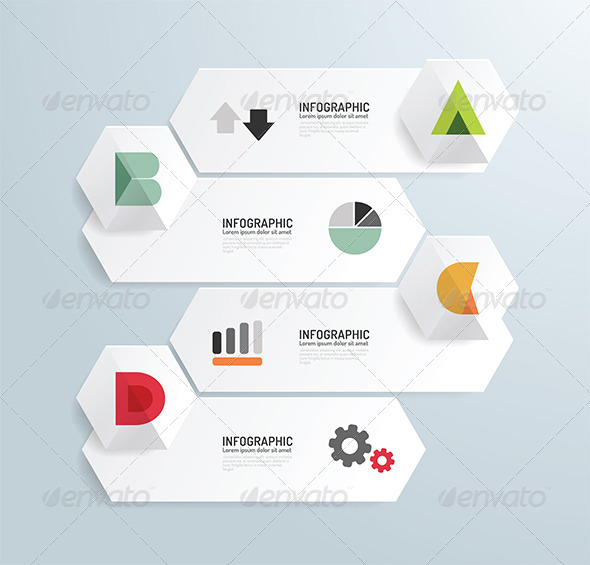 GraphicRiver Modern Design Minimal Style Infographic Template 6758277