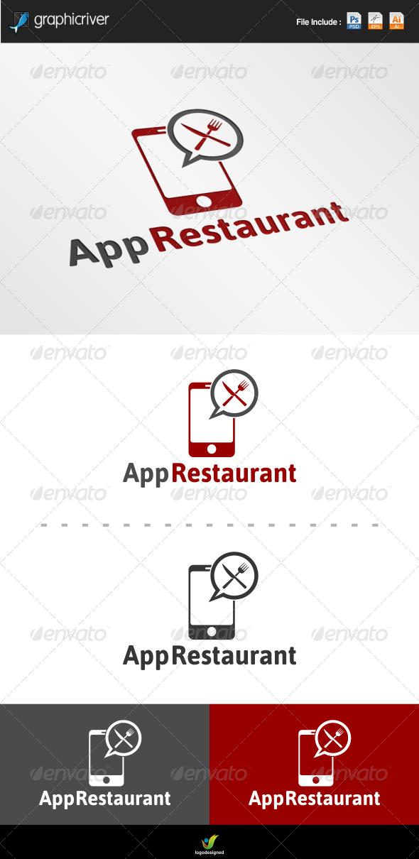 GraphicRiver App Restaurant Logo Template 6784342