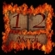 Burning wooden calendar March 12. - PhotoDune Item for Sale