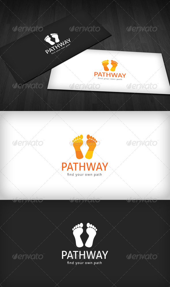 Graphic River Pathway Logo Logo Templates -  Symbols 709032