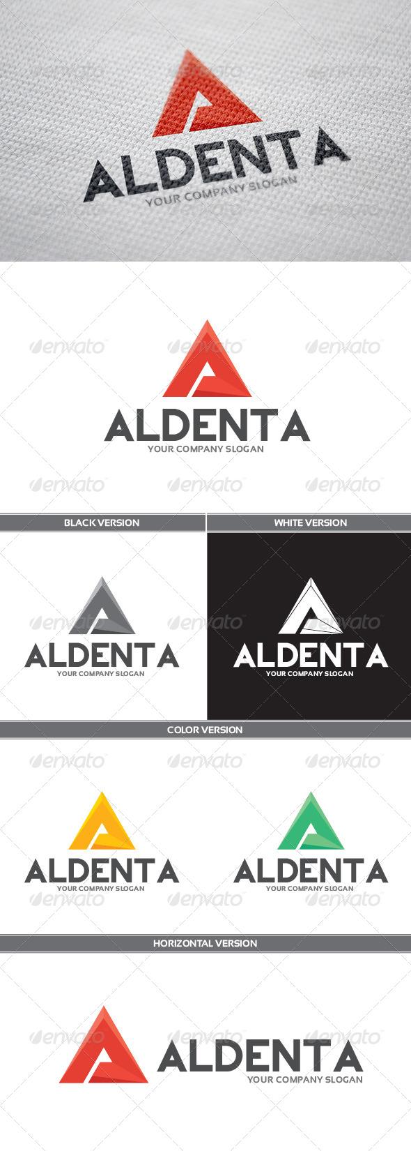 GraphicRiver Aldenta Logo 6784972
