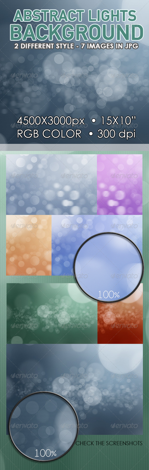GraphicRiver Abstract Lights Bokeh Background 6784995