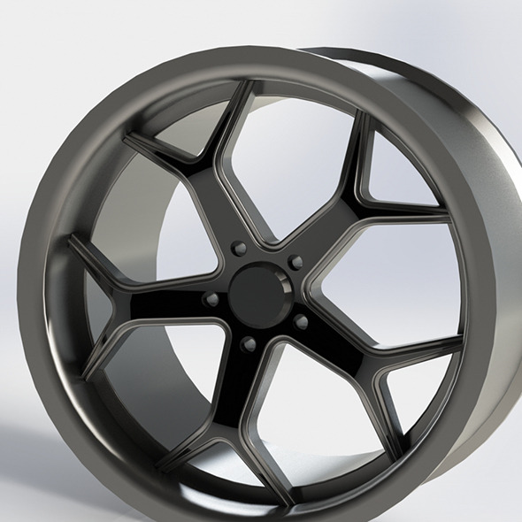 20inc wheel rim - 3DOcean Item for Sale