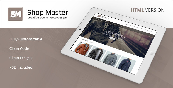 Shop Master - Premium eCommerce HTML5 Template