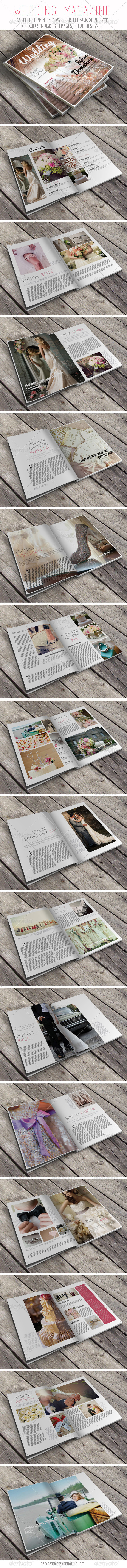 GraphicRiver Wedding Magazine 6776868