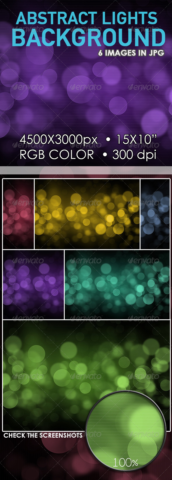 GraphicRiver Abstract Lights Bokeh Background 6785242