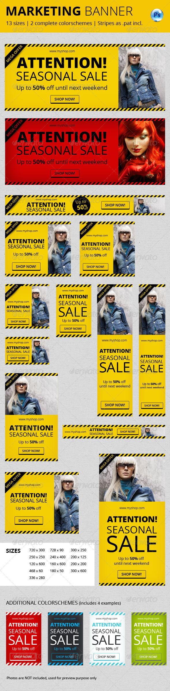 GraphicRiver Marketing Banner Vol II 6785457