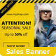 Marketing Banner Vol. II - GraphicRiver Item for Sale